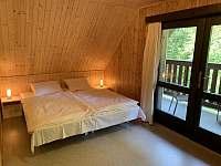 ložnice 1 - pronájem chaty Nahořany