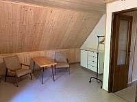 ložnice 1 - chata ubytování Nahořany