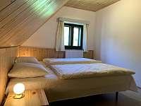 ložnice 2 - chata k pronajmutí Nahořany
