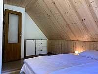 ložnice 2 - pronájem chaty Nahořany