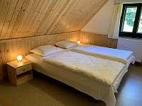 ložnice 2 - chata k pronájmu Nahořany