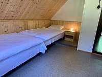 ložnice 3 - chata k pronájmu Nahořany