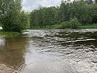 řeka Vltava, ráno - Nahořany