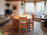 Společenská místnost - rekreační dům ubytování Matějovec