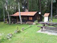 Chaty a chalupy Velký Klikovský rybník na chatě k pronajmutí - Číměř