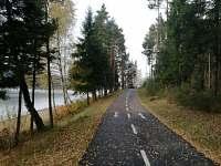 Podzimní procházka po cyklostezce Frymburk - Lipno nad Vltavou