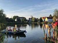 Rybníček s loďkou - Nítovice