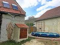 Solární ohřev bazénu - chalupa k pronájmu Nítovice