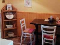 kuchyně - chata k pronajmutí Blatiny