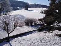 zimní pohled - Blatiny