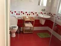 Koupelna - pronájem apartmánu Jindřichův Hradec