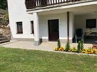 Vchod do privátu - apartmán ubytování Jindřichův Hradec