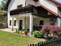Venkovní terasa - apartmán k pronajmutí Jindřichův Hradec