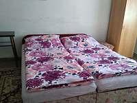 ložnice 2 - chalupa ubytování Nová Hlína