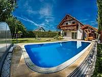 Domek s bazénem Roudná u Soběslavi - chata ubytování Roudná u Soběslavi