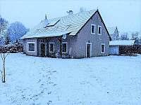 Chata v zimě - k pronajmutí Dolní Žďár