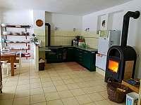 Kuchyň - chata k pronajmutí Dolní Žďár
