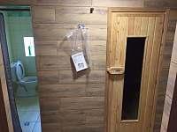 Sauna se sprchou - Dolní Žďár