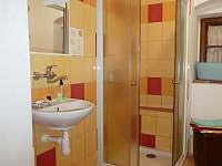Koupelna - pronájem chalupy Spolí
