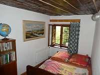 ložnice 1 - pronájem chalupy Spolí