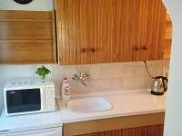 Kuchyň - chalupa k pronajmutí Černá v Pošumaví - Plánička