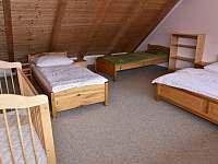 ložnice - apartmán k pronájmu Kájov