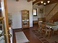 obytná kuchyně - apartmán k pronajmutí Kájov