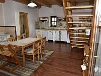 obytná kuchyně - pronájem apartmánu Kájov