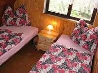 Ložnice 1 - pronájem chaty Malý Ratmírov