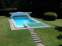 ubytování s bazénem Chlum u Třeboně