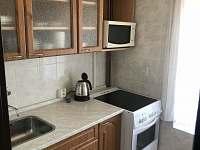 Chalupa Anna- apartmán 1, kuchyň - k pronajmutí Loučovice