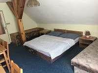 Chalupa Anna- apartmán 4, pokoj 1 - Loučovice