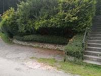 Parkování u chaty - pronájem Lipno nad Vltavou - Slupečná