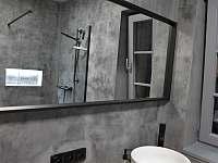 koupelna v apartmánu Skořápka - Velké Nepodřice