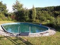 venkovní bazén - Lažany
