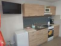 kuchyň - apartmán k pronájmu Černá v Pošumaví