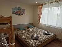 Ložnice - pronájem apartmánu Černá v Pošumaví