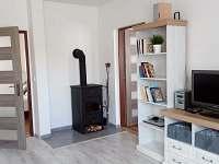 Apartmán č. 1 - obývací pokoj - chalupa k pronájmu Blatná