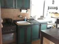 Kuchyňský kout - chata k pronájmu Temešvár