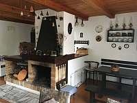 Obývací místnost - chata ubytování Temešvár