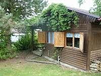 chata ze zahrady - srub k pronajmutí Košín u Tábora