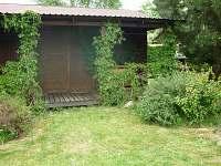 chata ze zahrady - srub k pronájmu Košín u Tábora