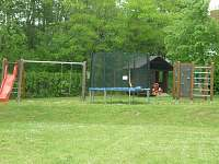dětské hřiště - srub k pronájmu Košín u Tábora