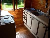 kuchyň - srub k pronájmu Košín u Tábora