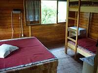 ložnice - srub k pronajmutí Košín u Tábora