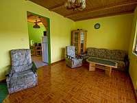 Obývací pokoj 2/2 - pronájem chaty Nuzice