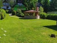 Zahrada - pronájem chaty Nuzice