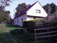 Zadní část se samostatným vchodem - chalupa ubytování Olešná u Orlické nádrže
