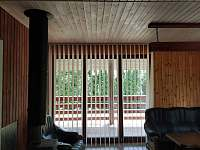 vstup na verandu - chata k pronájmu Neznašov