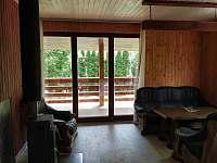 vstup na verandu - chata ubytování Neznašov